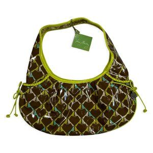 NEW Vera Bradley Frill Tied Together Hobo Bag